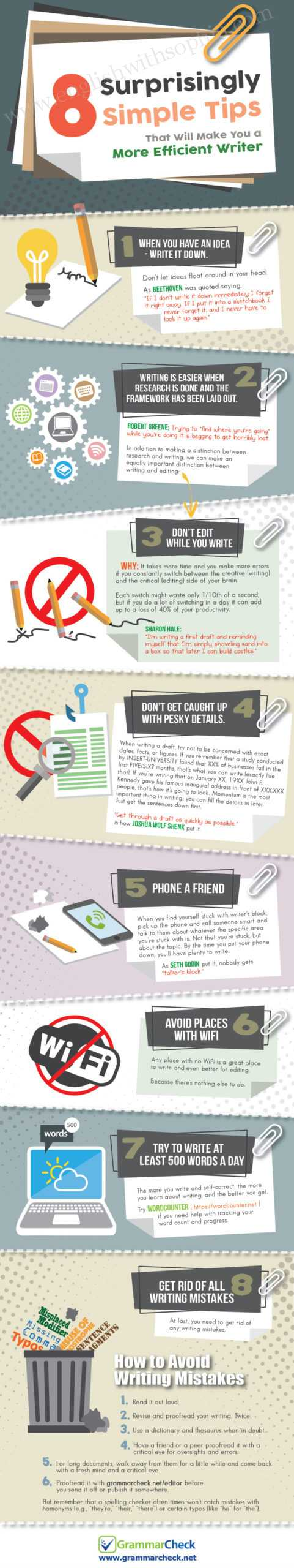 Clear Writing Tips to Make you More Efficient