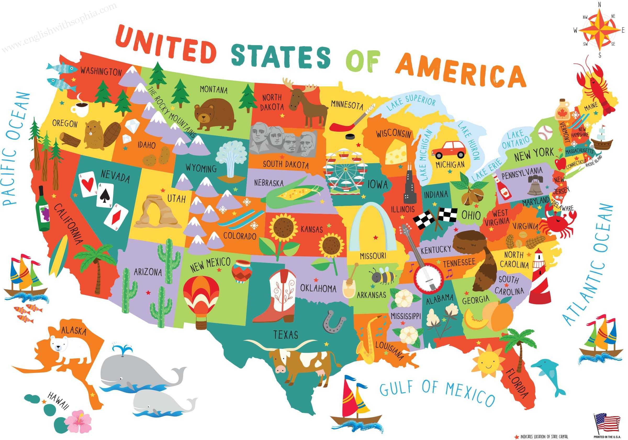 exciting facts about the USA